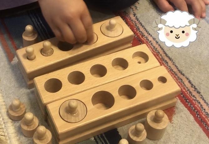 円柱さしの効果と年齢別遊んでみた感想